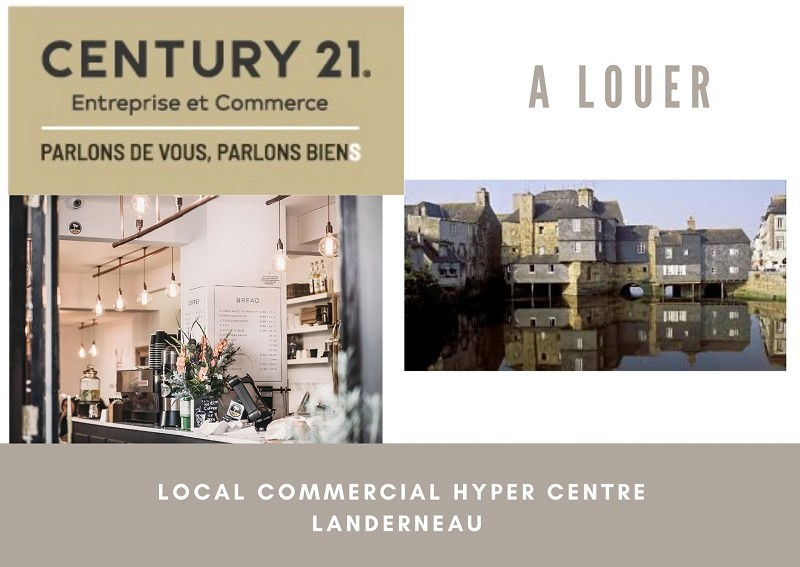 Location commerce - Finistere (29)